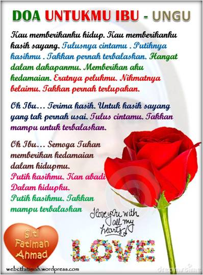 ... 2010: SELAMAT HARI IBU UNTUK SAHABATKU… IBU-IBU DI INDONESIA