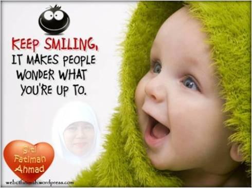 Ct66 Senyum Tak Perlu Kata Apa Apa Laman Menulis Gaya