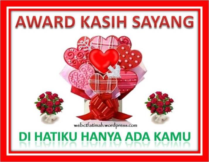 AwardHariIbuFatimaKasihSayang
