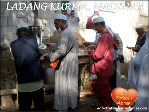 KurmaFatima6MinumTeh
