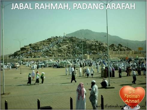 TravelogFatima4JabalRahmahArafah