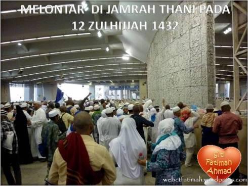 HajiTuaFatima10JamrahThani
