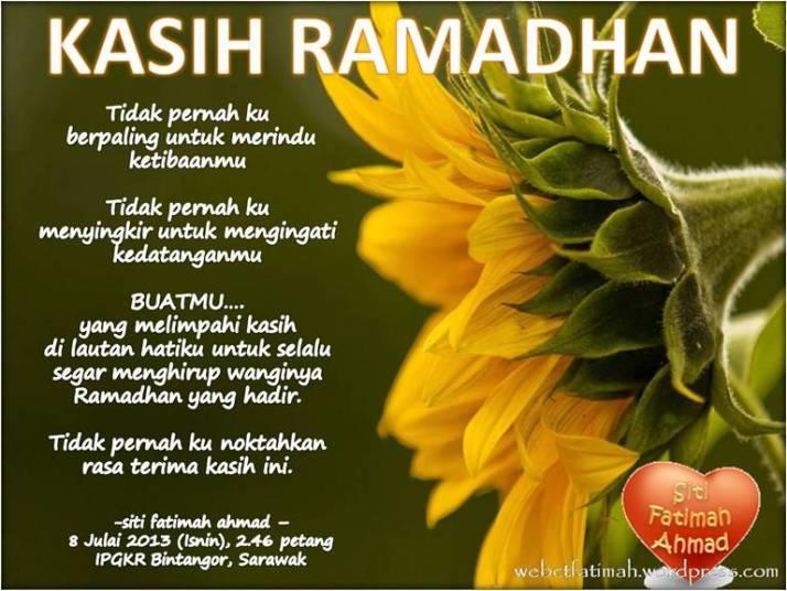 RamadhanFatima2KasihRamadhanpuisi