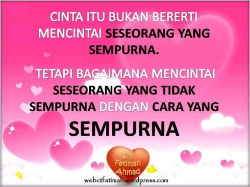 CintaFatimaku13sempurnauntukmu