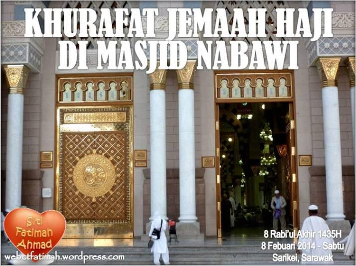 Khurafat2Fatima1MasjidNabawi
