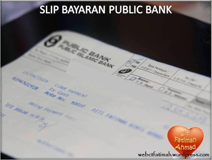 BankFatima2SlipBayaranPB