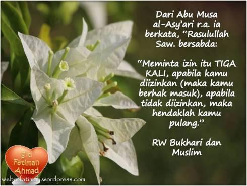 AdabFatima5HRBukhariMuslim