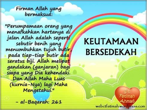 HikmahFatima1Sedekah
