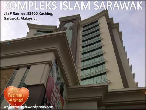 KompleksIslamSarawakFatima2Kuching