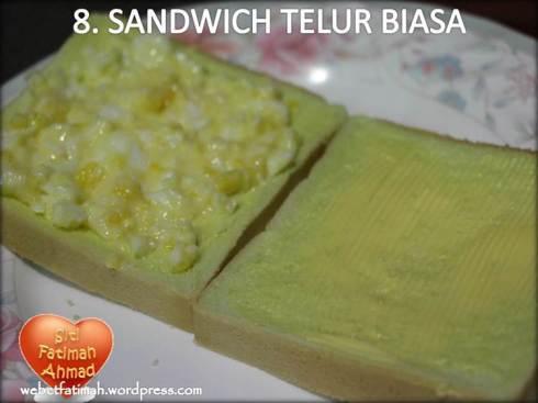 SandwichFatima9TelurBiasa
