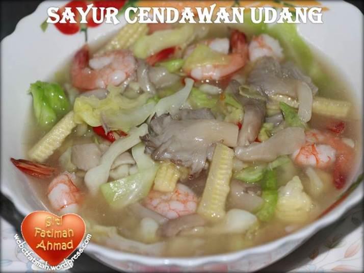 MeeFatima14CendawanUdang