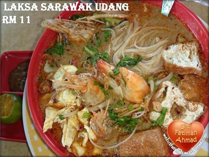 MeeFatima7LaksaSarawakUdang