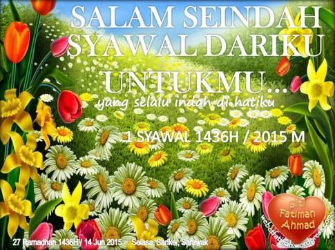 SyawalFatima4Indah2015Untukmu