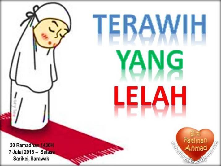 TerawihFatima1YangLelah