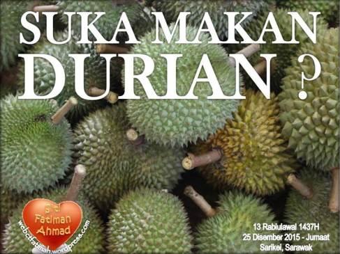 DurianFatima1SukaMakanDurian