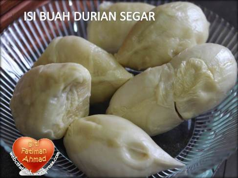 DurianFatima3IsiSegar