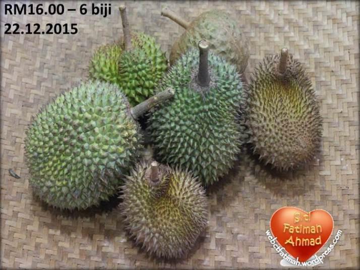 DurianFatima7BeliKelima