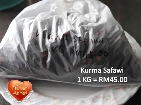 KurmaFatima3Safawi1kgRM45