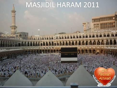 PerjalananHajiFatima3MasjidilHaram2011